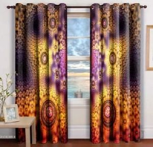High Quality Printed Curtain