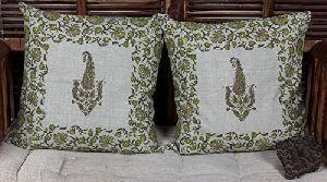 Linen Printed Cushion Covers