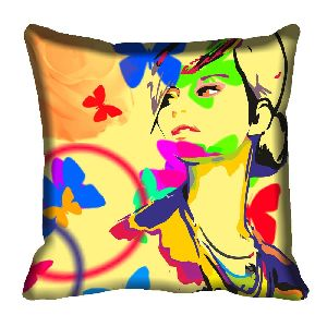 Polyester Digital Printed Cushion Cover