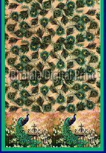 Assam Silk Digital Printed Dupatta