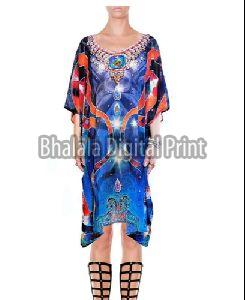 Beachwear Embellished Kaftan