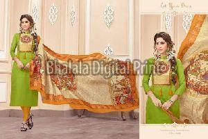 Chanderi Digital Printed Dupatta