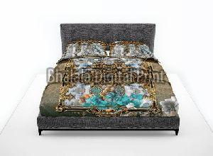Cotton Digital Printed Bed Sheet Set