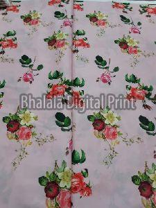 Crepe Silk Digital Printed Fabric