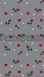 Digital Print American Crepe Fabric