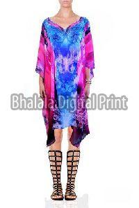 Digital Print Beach Wear Kaftan