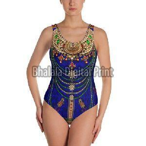 Digital Print Designer Swimsuit