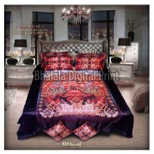 Digital Print Premium Bed Sheet Set