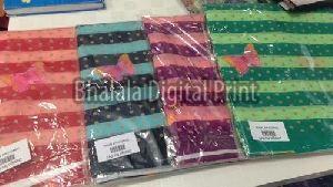 Digital Printed Japan Satin Fabric