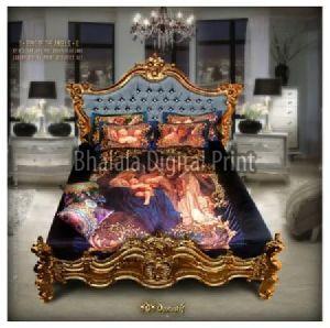 European Art Bed Sheet Set