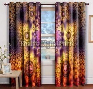 High Quality Printed Curtain