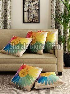 Jute Printed Cushion Covers
