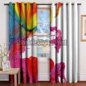 Modern Art Curtain