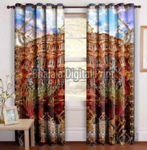 Monument Print Curtain