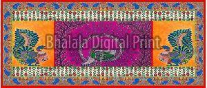 Muslin Digital Printed Dupatta