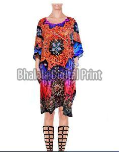 Silk Short Kaftan