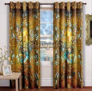 Velvet Printed Curtain