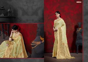Linen Art Silk Saree