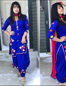 Patiala Dress Material