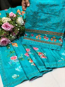 Upada Silk Dress Material