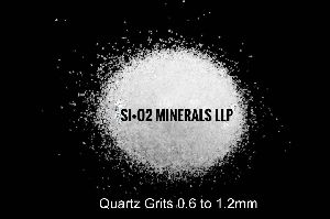 0.6 to 1.2 mm Quartz Grits