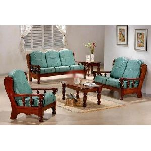 6 Seater Wooden Sofa Set