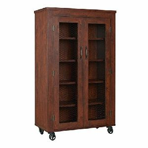 Double Door Wooden Almirah