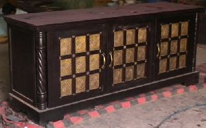 Wooden Carved Sideboard