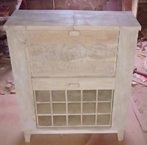 Wooden Home Bar Cabinet