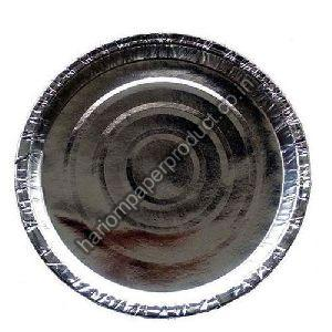 Silver Coated Paper For Round Plates