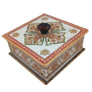 Marble Dry Fruit Box