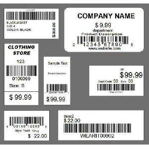Price Tag Stickers