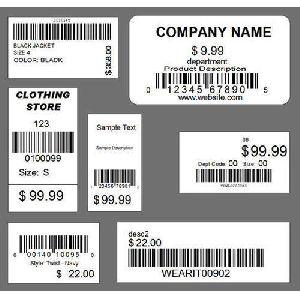 Price Tag Stickers