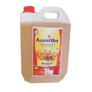 Aayurtha Groundnut Oil (5 Ltr.)