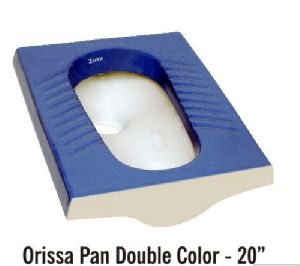 Double Color Orissa Pan Toilet Seat