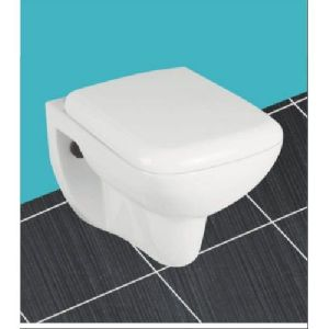 Square Wall Hung Water Closet