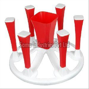 Plastic Glass Stand