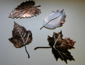 Metal Maple Leaves