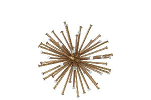 Metal Sea Urchin Ornamental
