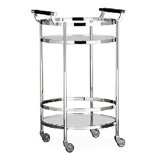 Steel Bar Cart