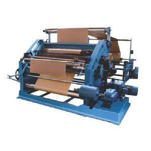 Bearing Mounted Oblique Type Paper Corrugating Machine