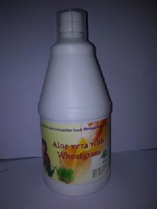 Aloe Vera with Wheatgrass Juice