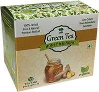 Honey & Ginger Green Tea