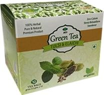 Tulsi & Elaichi Green Tea