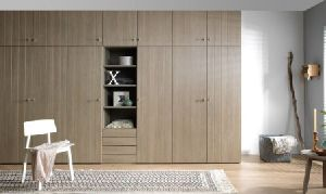 Wardrobe with Swing Doors