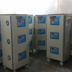 20 KVA Three Phase Servo Voltage Stabilizer