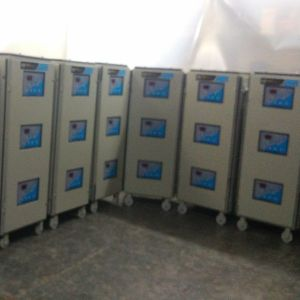 25 KVA Three Phase Servo Voltage Stabilizer