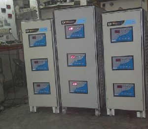 D30040 40 KVA Three Phase Servo Voltage Stabilizer