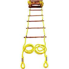 Wooden and Aluminium Safety Ropes Ladders