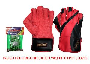 Extreme-Grip Cricket Wicket Keeper Gloves